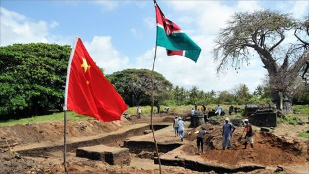 The dig suggests China's interest in Africa goes back a long way
