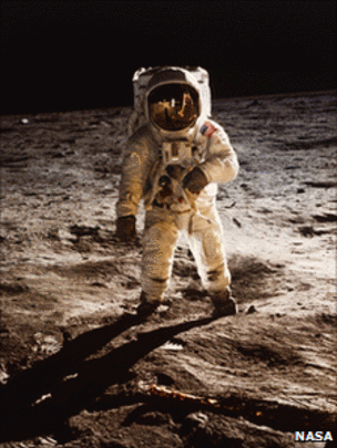 The dust was brought back by the Apollo 11 astronauts in July 1969