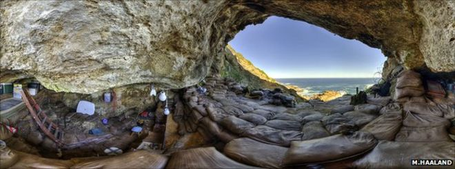 Blombos Cave is an archaeological site with significant information about the behaviour of our ancestors
