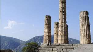 The oracle at Delphi: Always ambiguous enough to be right afterwards, rather like modern economists