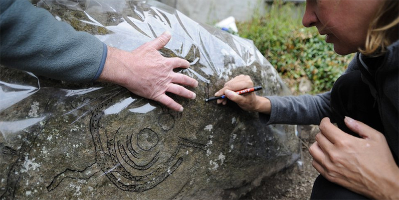 The Welsh Rock Art Organization is a non-profit research body specially interested in researching and promoting prehistoric rock art in Wales. Members record as much as they can about an artwork's size, shape, complexity and location and cross-reference their findings with those across Europe.