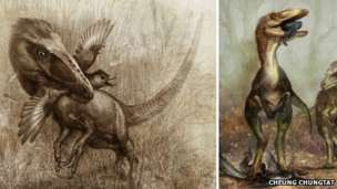 Sinocalliopteryx hunted flying dinosaurs and birds with cunning and guile