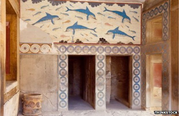 Knossos was a hub for all sorts of fine goods - including ivory and gold
