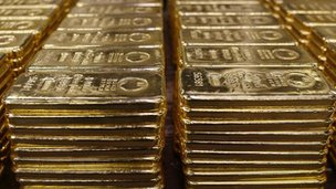 At current prices, 400m euros' worth of gold amounts to about 10.36 tonnes of metal