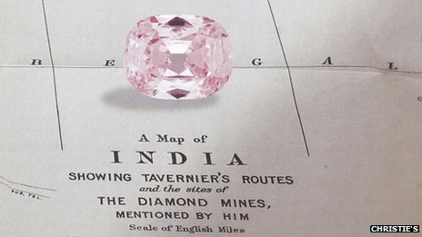 All four of the world's top pink diamonds have been found at Golconda