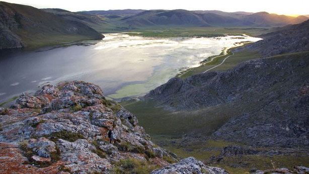 Mal'ta is located near Lake Baikal in Central Siberia