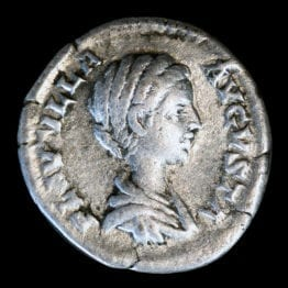 Plautilla Silver Denarius Coin - Londoncoin.com