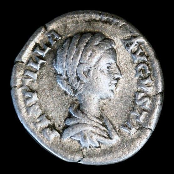 Plautilla Silver Denarius Coin - Londoncoin.com