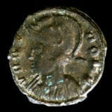 Constantine the Great and his sons ancient coin