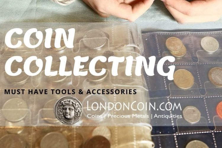 coin collecting tools and accessories