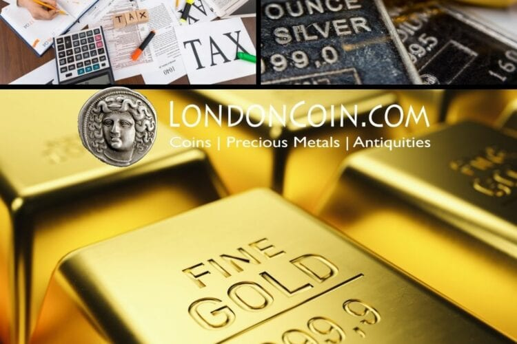 All About Tax when you buy and sell precious metals